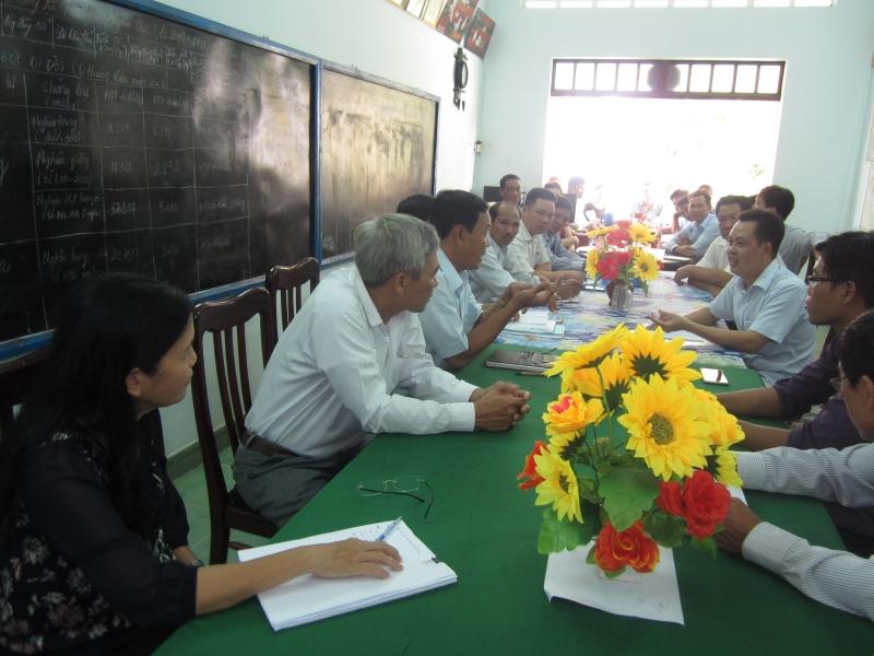 Một Số Hình Ảnh Tham Quan Thực Tế Tại Htx Thủy Sản Bảo Thuận